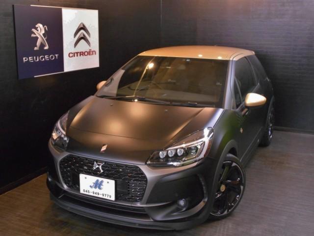 シトロエン DS3 パフォーマンス ブラックスペシャル 限定10台 6MT 新車保証継承 ワンオーナー 禁煙車